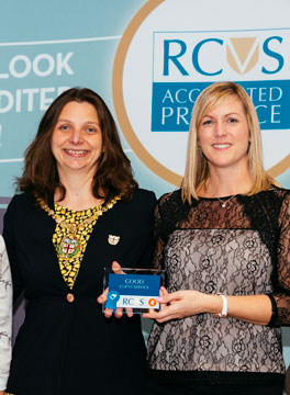 RCVS awards ceremony